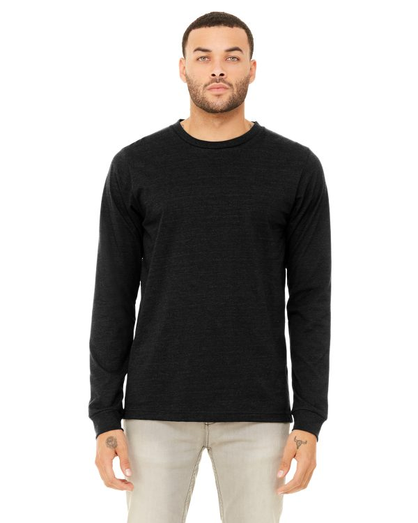 Bella Canvas 3501 Unisex Jersey Long-Sleeve T-Shirt Front