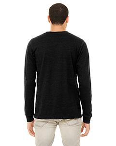 Bella Canvas 3501 Unisex Jersey Long-Sleeve T-Shirt Back