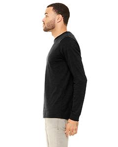 Bella Canvas 3501 Unisex Jersey Long-Sleeve T-Shirt Side