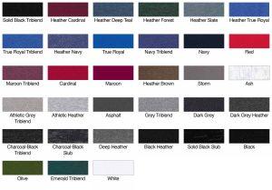 Bella Canvas 3501 Unisex Jersey Long-Sleeve T-Shirt Swatch