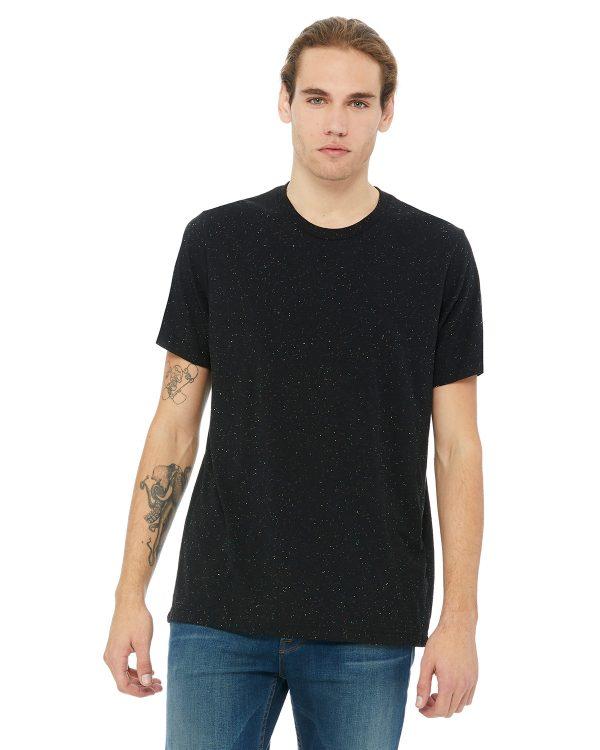 Bella Canvas 3650 Unisex Poly-Cotton Short-Sleeve T-Shirt Front