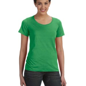 Anvil 391A Ladies Featherweight scoop T-Shirt Front