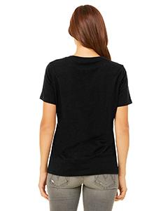 Bella Canvas 6405 Ladies Jersey Short-Sleeve V-Neck T-Shirt Back