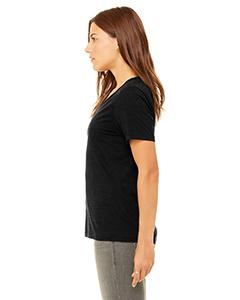 Bella Canvas 6405 Ladies Jersey Short-Sleeve V-Neck T-Shirt Side