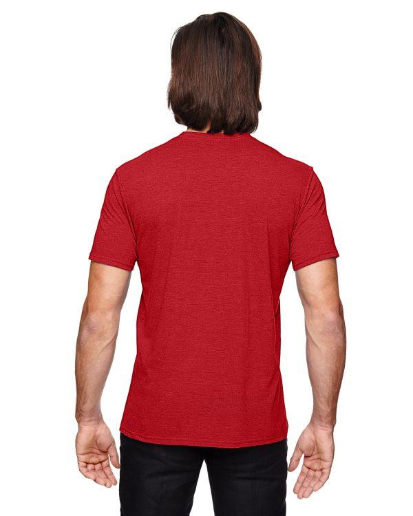 Anvil 6750 Adult Triblend T-Shirt Back