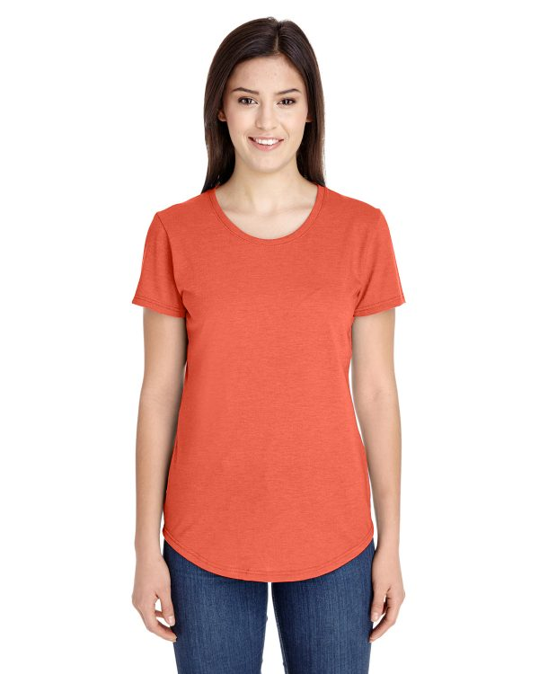 Anvil 6750L Ladies Triblend T-Shirt Front