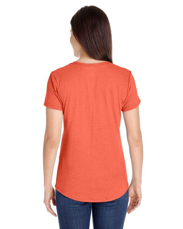 Anvil 6750L Ladies Triblend T-Shirt Back