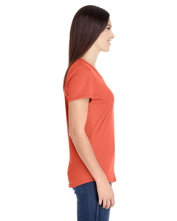 Anvil 6750L Ladies Triblend T-Shirt Side