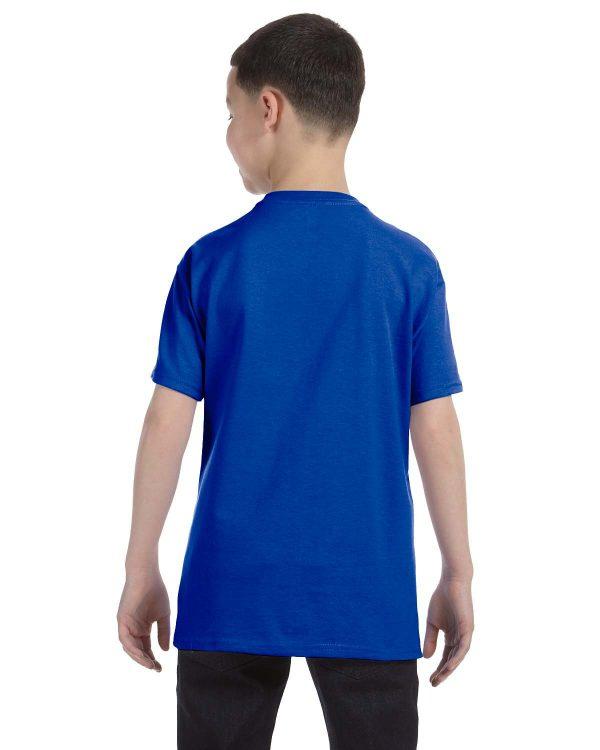 Anvil 705B Youth Heavyweight T-Shirt Back