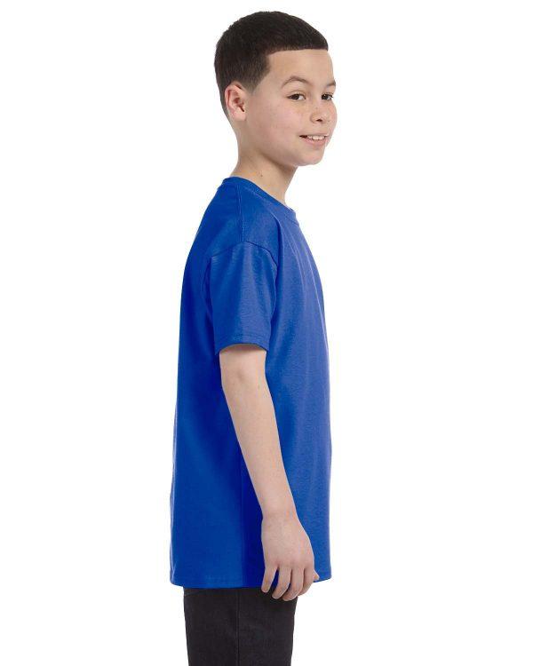 Anvil 705B Youth Heavyweight T-Shirt Side