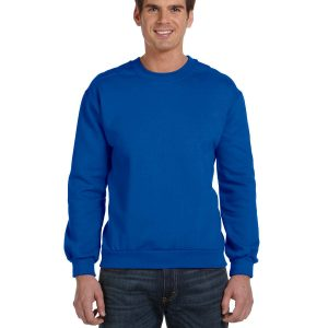 Anvil 71000 Adult Crewneck Fleece Front