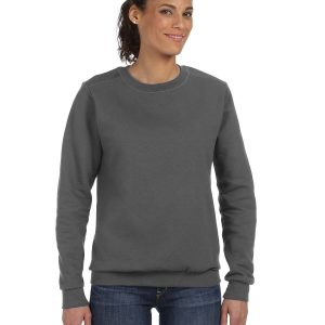 Anvil 71000L Ladies Crewneck Fleece Front