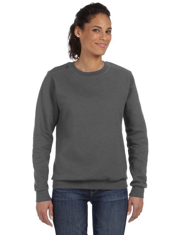 Anvil 71000L Ladies Crewneck Fleece Front