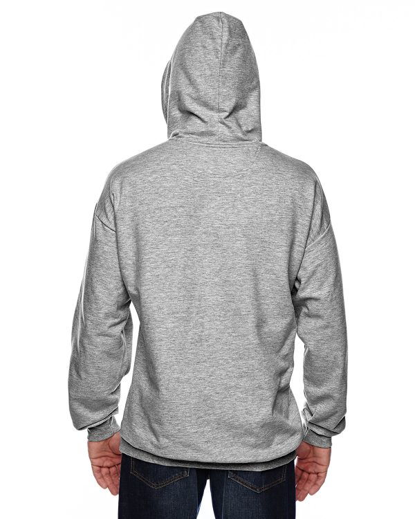 Anvil 71500 Adult Pullover Hooded Fleece Back