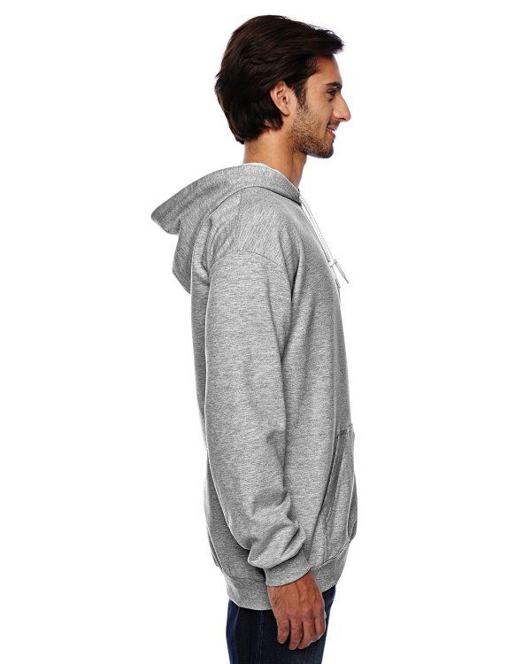 Anvil 71500 Adult Pullover Hooded Fleece Side