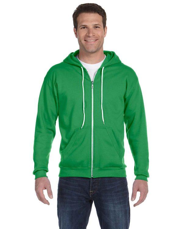 Anvil 71600 Adult Full-Zip Hooded Fleece Front