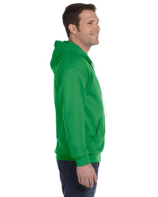Anvil 71600 Adult Full-Zip Hooded Fleece Side