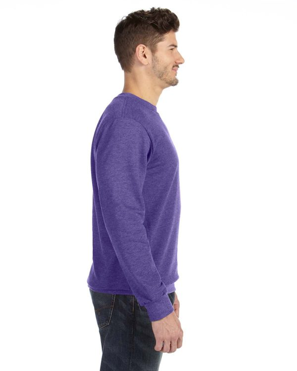 Anvil 72000 Adult Crewneck French Terry Side