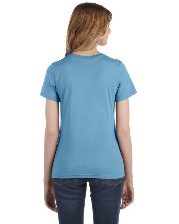 Anvil 880 Ladies Lightweight T-Shirt Back