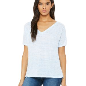 Bella Canvas 8815 Ladies V-Neck T-Shirt Front