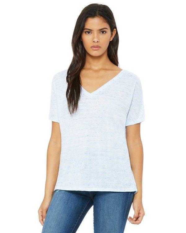 Bella Canvas 8815 Ladies V-Neck T-Shirt Front