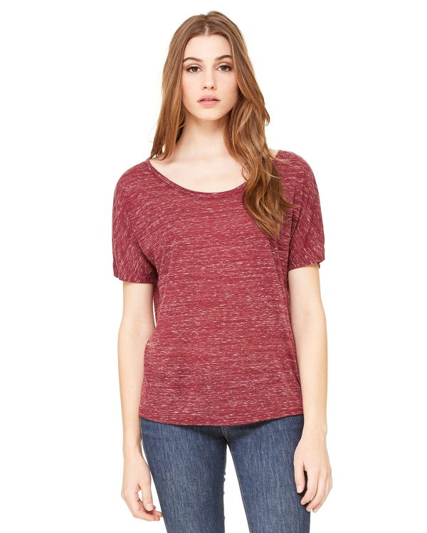 Bella Canvas 8816 Ladies Slouchy T-Shirt Front