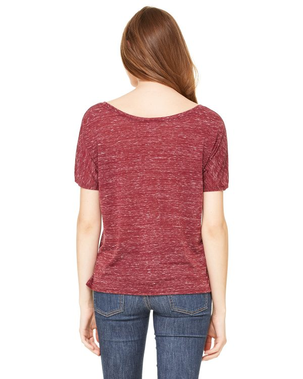 Bella Canvas 8816 Ladies Slouchy T-Shirt Back