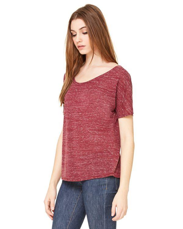 Bella Canvas 8816 Ladies Slouchy T-Shirt Side