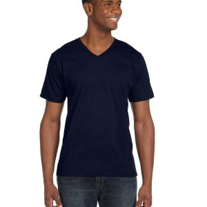 Anvil 982 Adult Lightweight V-Neck T-Shirt Front