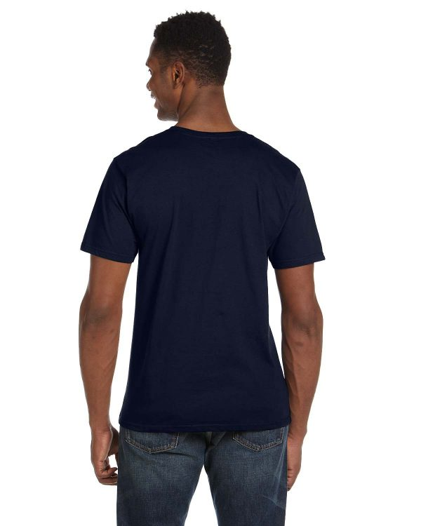 Anvil 982 Adult Lightweight V-Neck T-Shirt Back