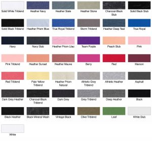 Bella Canvas B6400 Ladies Jersey Short-Sleeve T-Shirt Swatch