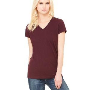 Bella Canvas B6005 Ladies Jersey Short-Sleeve V-Neck T-Shirt Front