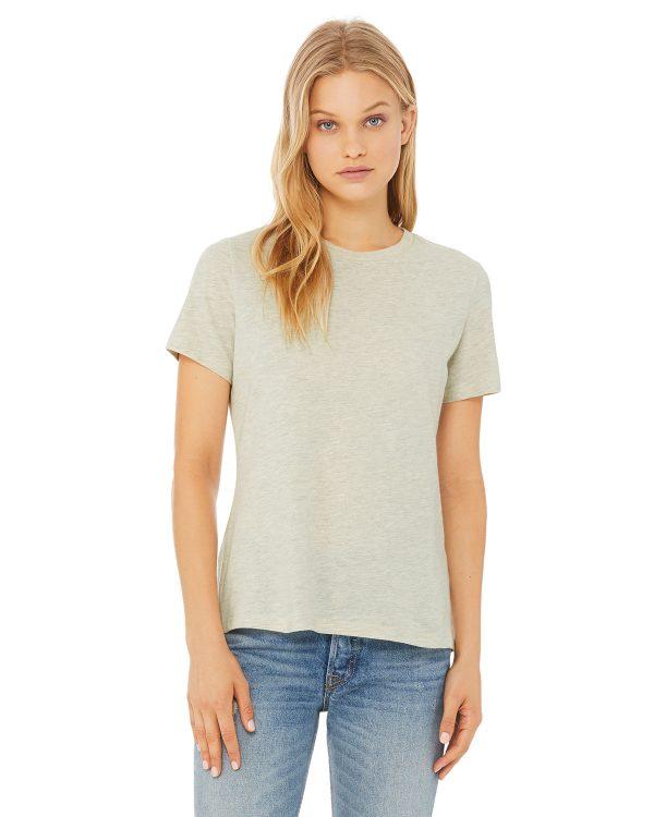 Bella Canvas B6400 Ladies Jersey Short-Sleeve T-Shirt Front
