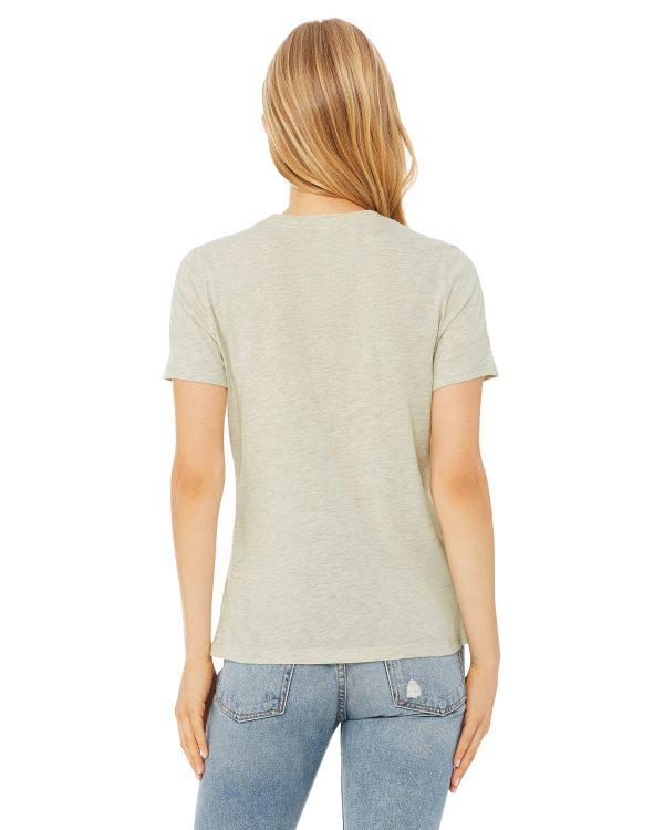 Bella Canvas B6400 Ladies Jersey Short-Sleeve T-Shirt Back