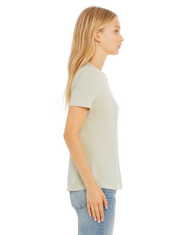 Bella Canvas B6400 Ladies Jersey Short-Sleeve T-Shirt Side
