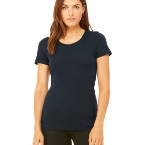 Bella Canvas B8413 Ladies Triblend Short-Sleeve T-Shirt Front