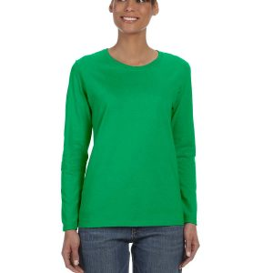 Gildan G5400L Ladies Long Sleeve T-Shirt Front