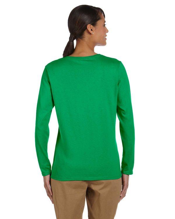Gildan G5400L Ladies Long Sleeve T-Shirt Back