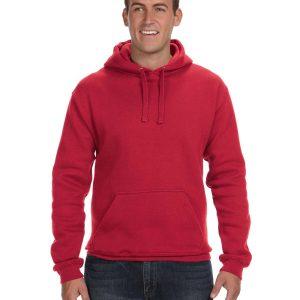 J America JA8824 Adult Premium Fleece Pullover Hood Front