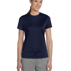 Hanes 4830 Ladies Cool DRI Performance T-Shirt Front