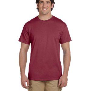 Hanes 5170 Adult 50/50 EcoSmart T-Shirt Front