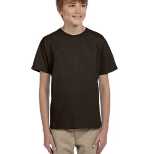 Hanes 5370 Youth 50/50 EcoSmart T-Shirt Front