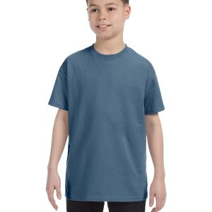Hanes 54500 Youth Tagless T-Shirt Front