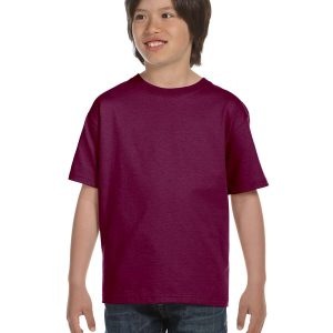 Hanes 5480 Youth ComfortSoft Cotton T-Shirt Front