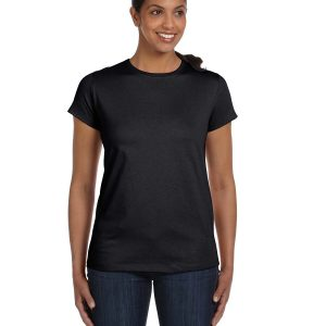Hanes 5680 Ladies Tagless T-Shirt Front