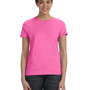 Hanes SL04 Ladie's nano-T T-Shirt Front