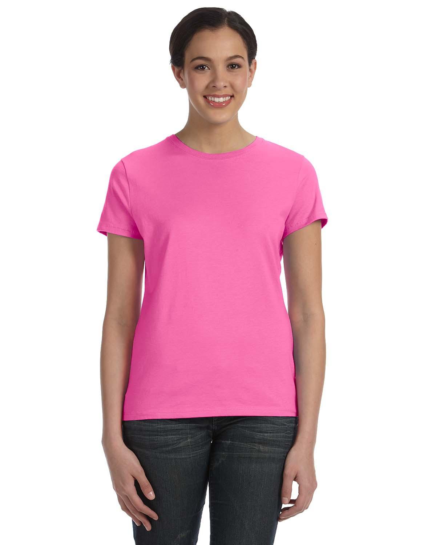 f9159186 Hanes SL04 Ladie's nano-T T-Shirt - Captain Jerry's T Shirts